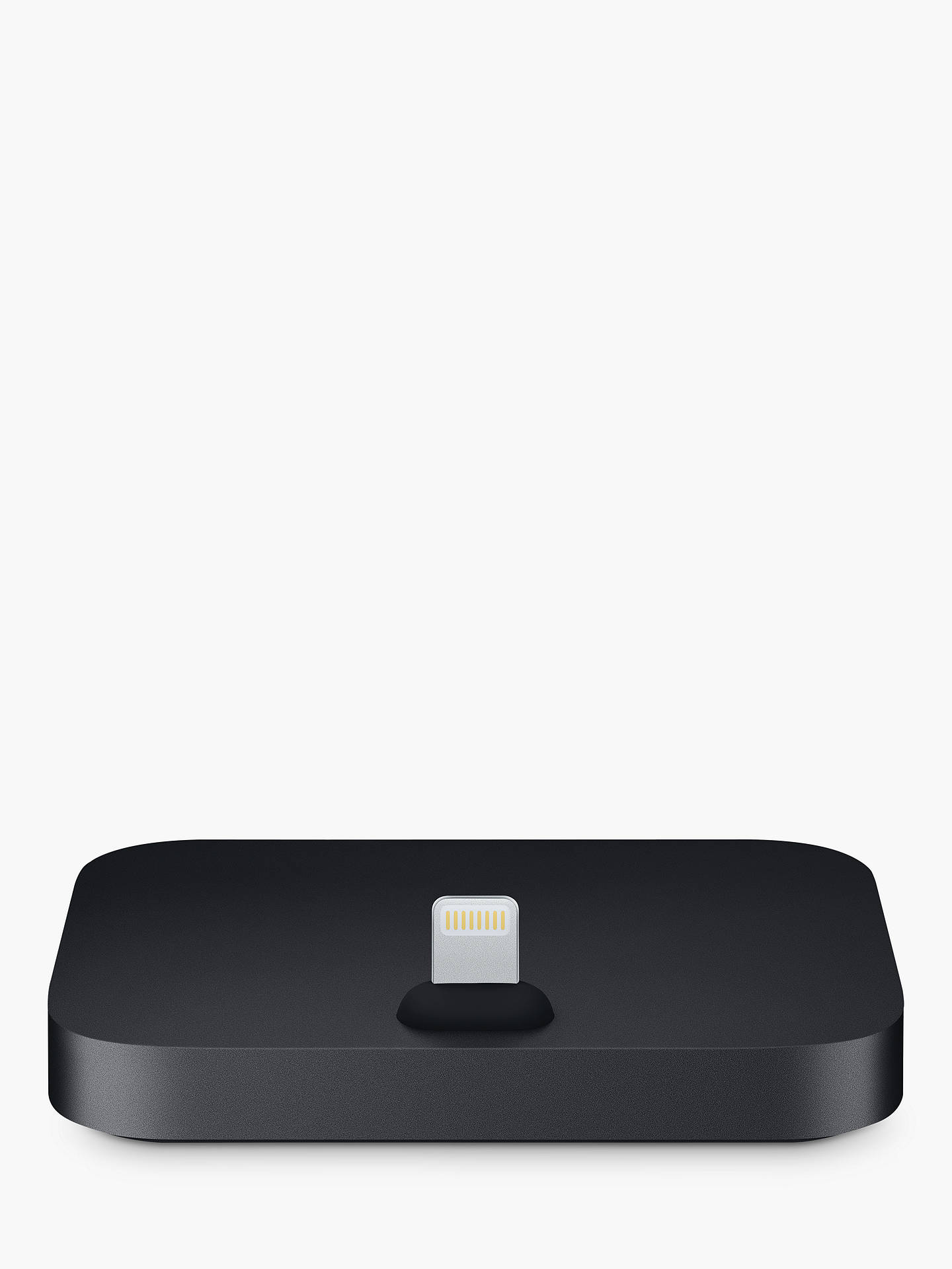 Buy Apple iPhone Lightning Dock, Black Online at johnlewis.com