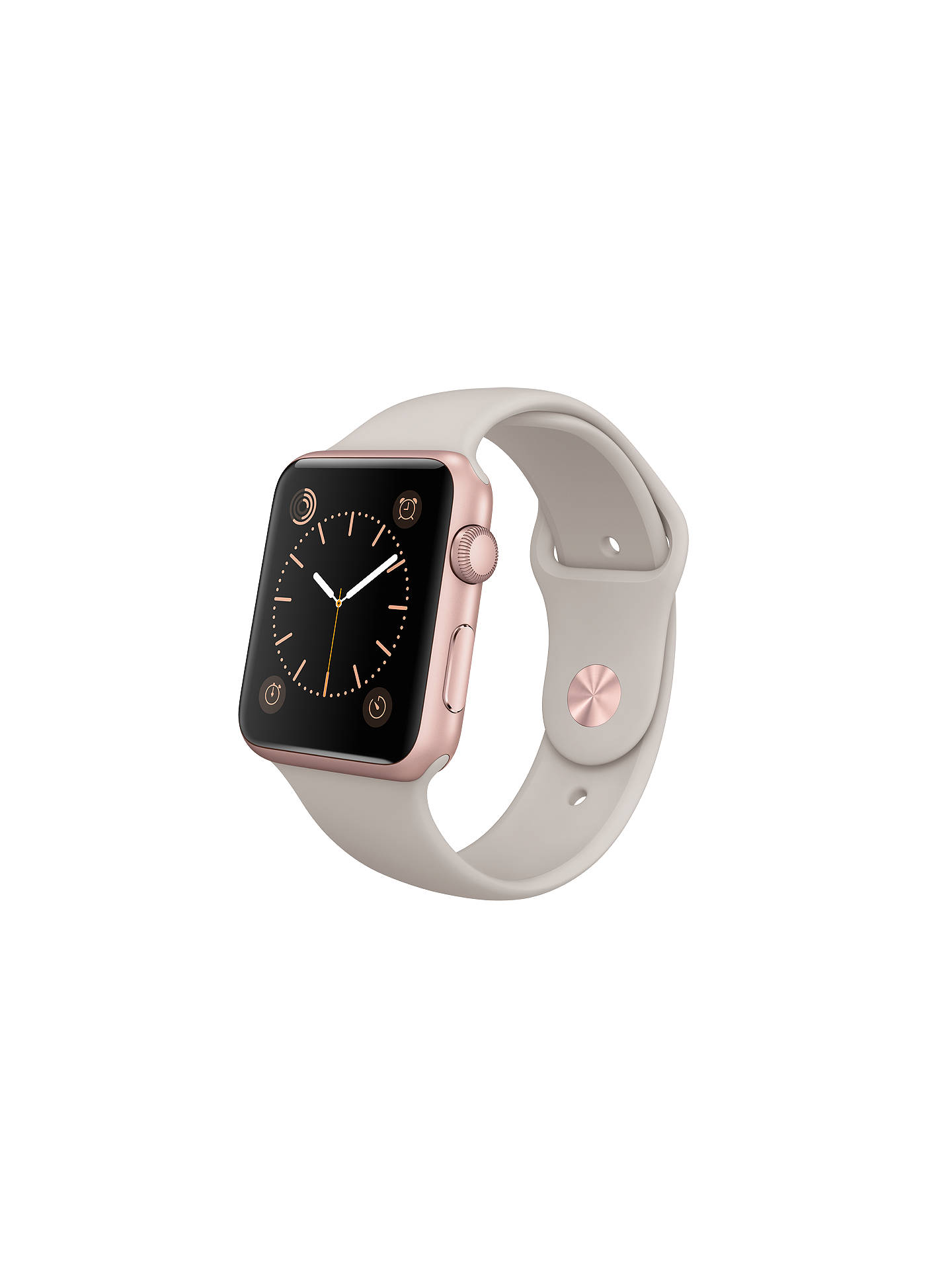 innovative design 5d4c7 d9935 Apple Watch Sport with 42mm Rose Gold Aluminium Case & Sport Band ...