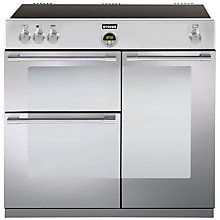 Buy Stoves Sterling 900EI Freestanding Electric Range Cooker, Stainless Steel Online at johnlewis.com