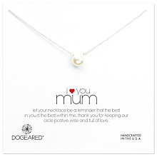 Buy Dogeared Mum Large Pearl Pendant Necklace Online at johnlewis.com