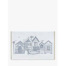 Buy John Lewis Beach Huts Terry Bath Mat Online at johnlewis.com
