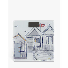 Buy John Lewis Beach Huts Digital Bathroom Scale Online at johnlewis.com