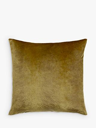 John Lewis & Partners Italian Cut Velvet Square Cushion