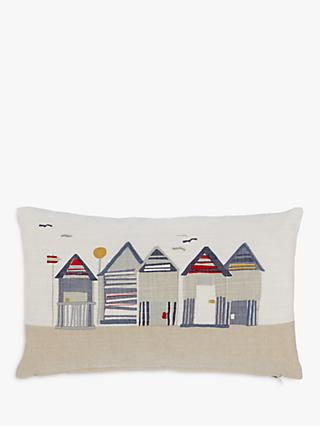John Lewis & Partners Beach Huts Cushion