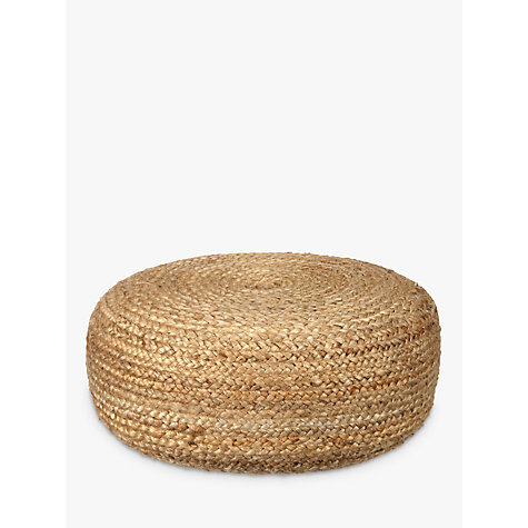 Buy John Lewis Jute Pouffe Online at johnlewis.com