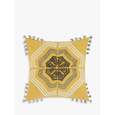 John Lewis Zangoora Cushion, Saffron