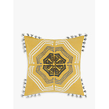 Buy John Lewis Zangoora Cushion, Saffron Online at johnlewis.com