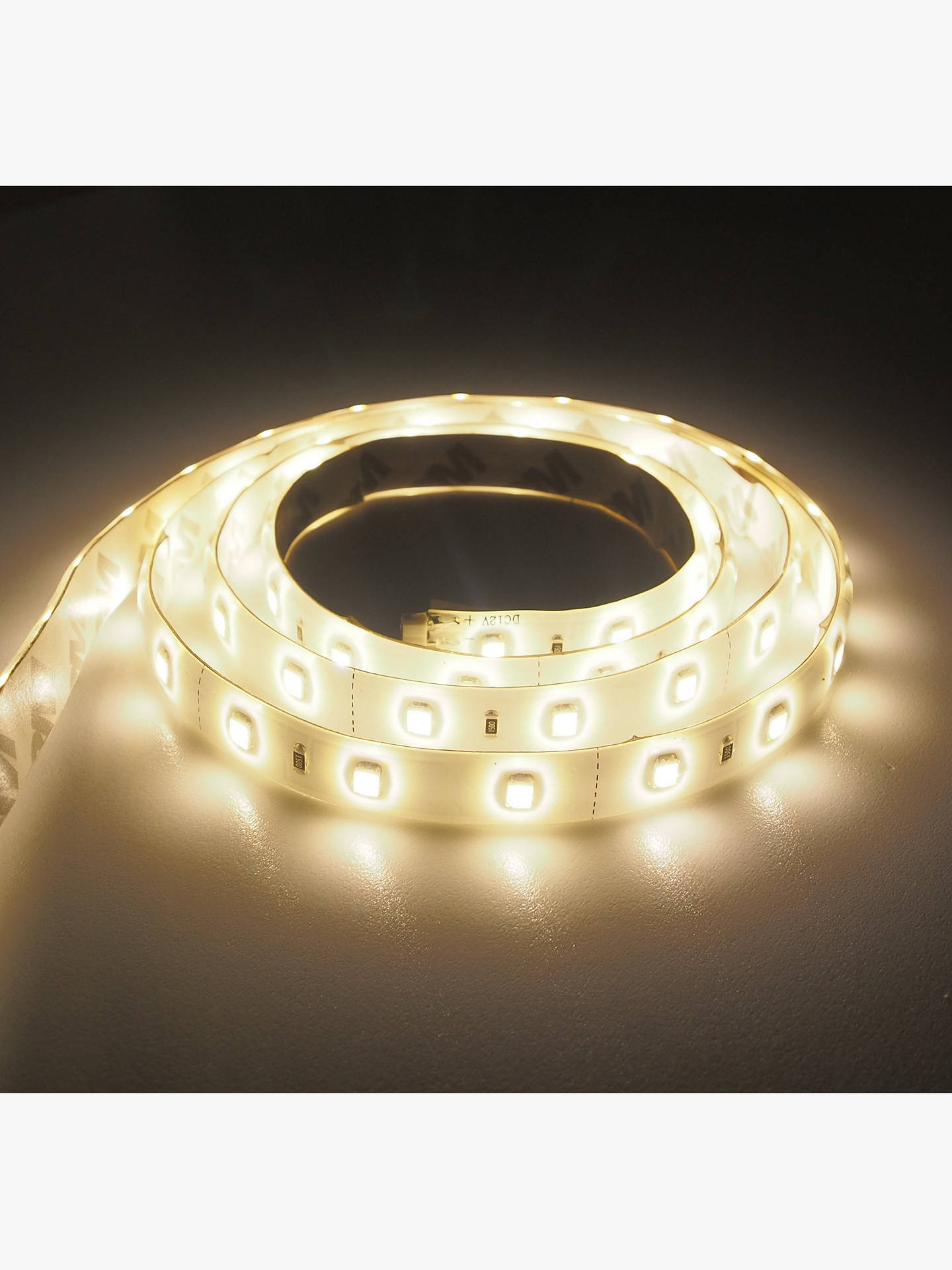 Buy John Lewis & Partners SY7340A 2m LED Strip Lights, Warm White Online at johnlewis.com