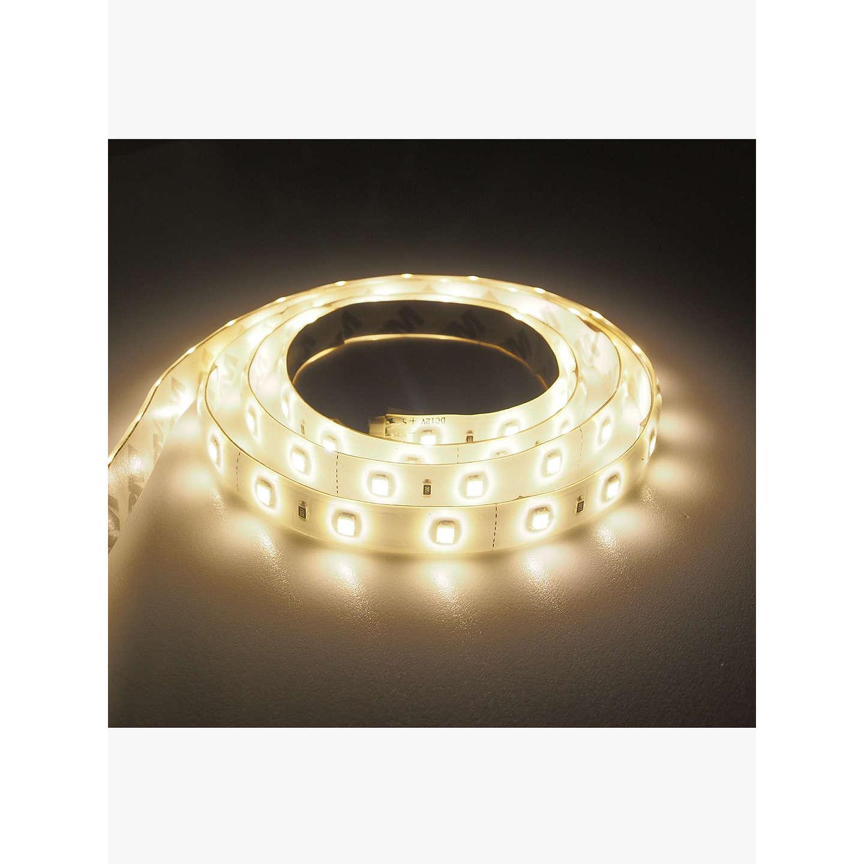 John lewis sy7338a 50cm led strip lights at john lewis buyjohn lewis sy7338a 50cm led strip lights warm white online at johnlewis aloadofball Choice Image