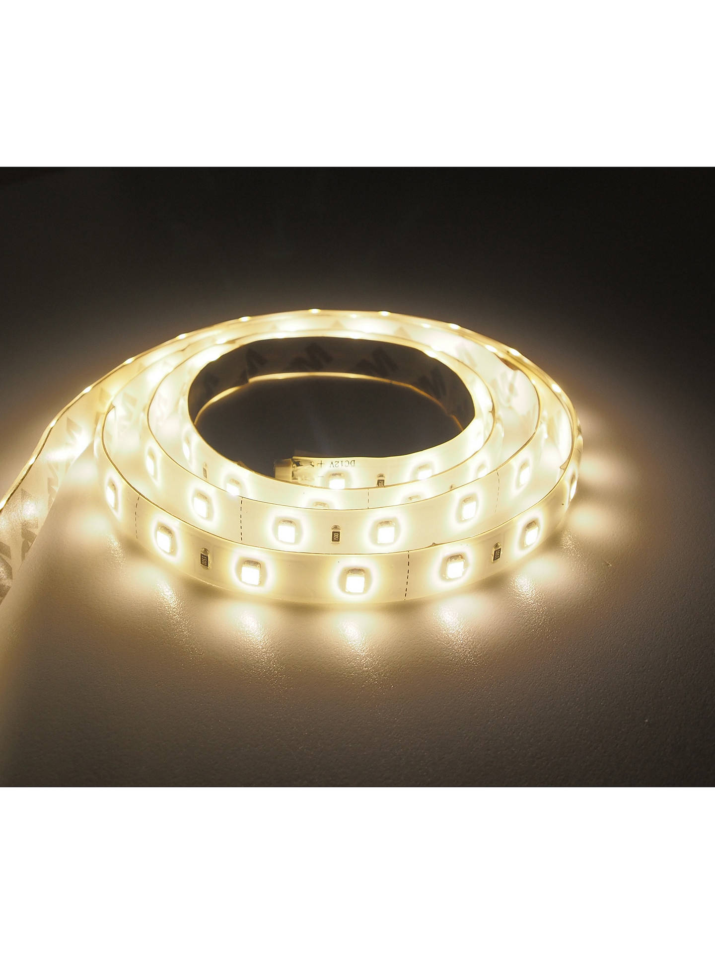 Buy John Lewis & Partners SY7339A 1m LED Strip Lights, Warm White Online at johnlewis.com