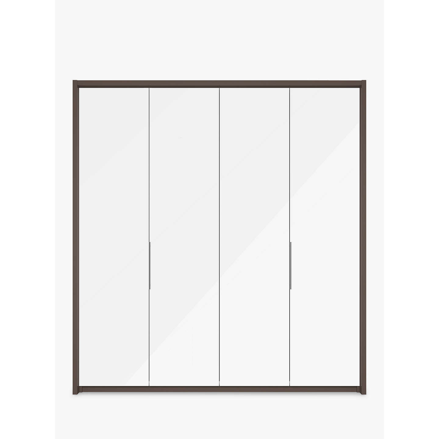 john lewis girona 200cm wardrobe with glass or mirrored. Black Bedroom Furniture Sets. Home Design Ideas