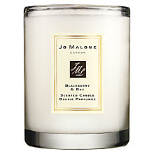 Buy Jo Malone London Travel Candle, Blackberry & Bay, 60g Online at johnlewis.com