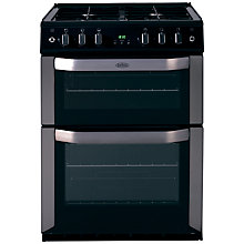 Buy Belling FSG60TC Freestanding Gas Cooker, Stainless Steel Online at johnlewis.com