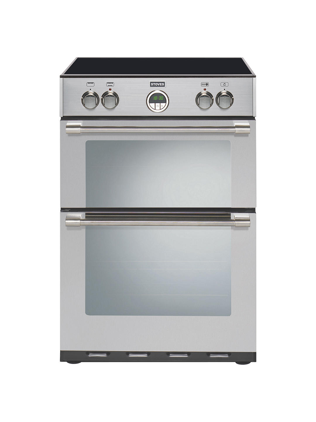 Buy Stoves Sterling 600MFTi Freestanding Electric Cooker, Stainless Steel Online at johnlewis.com
