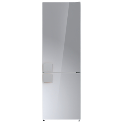 Product photo of Gorenje by starck nrk612st freestanding fridge freezer a energy rating 60cm wide reflective grey
