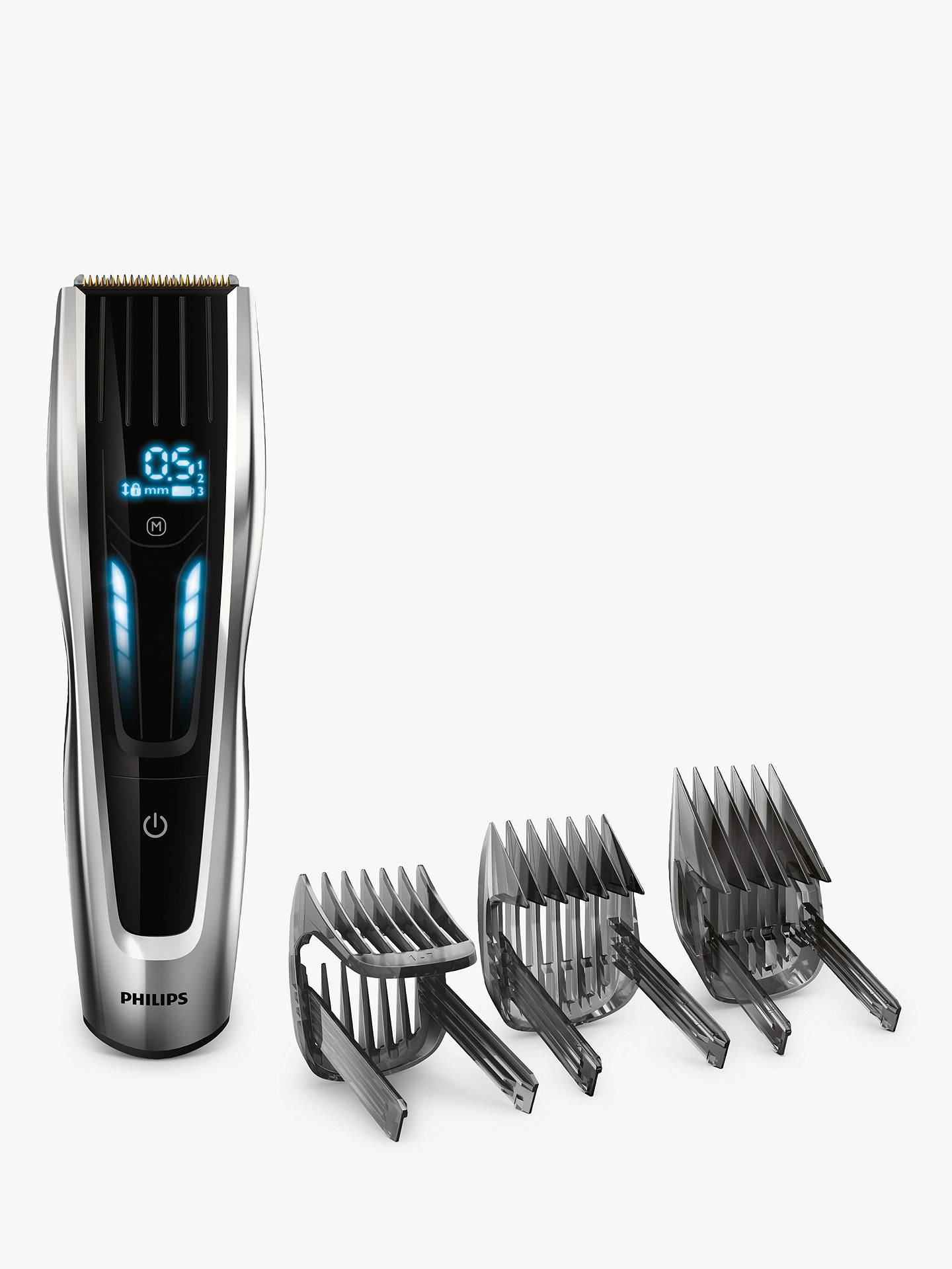 BuyPhilips HC9450/13 Series 9000 Hair Clipper with 400 Length Settings, Black/Silver ...