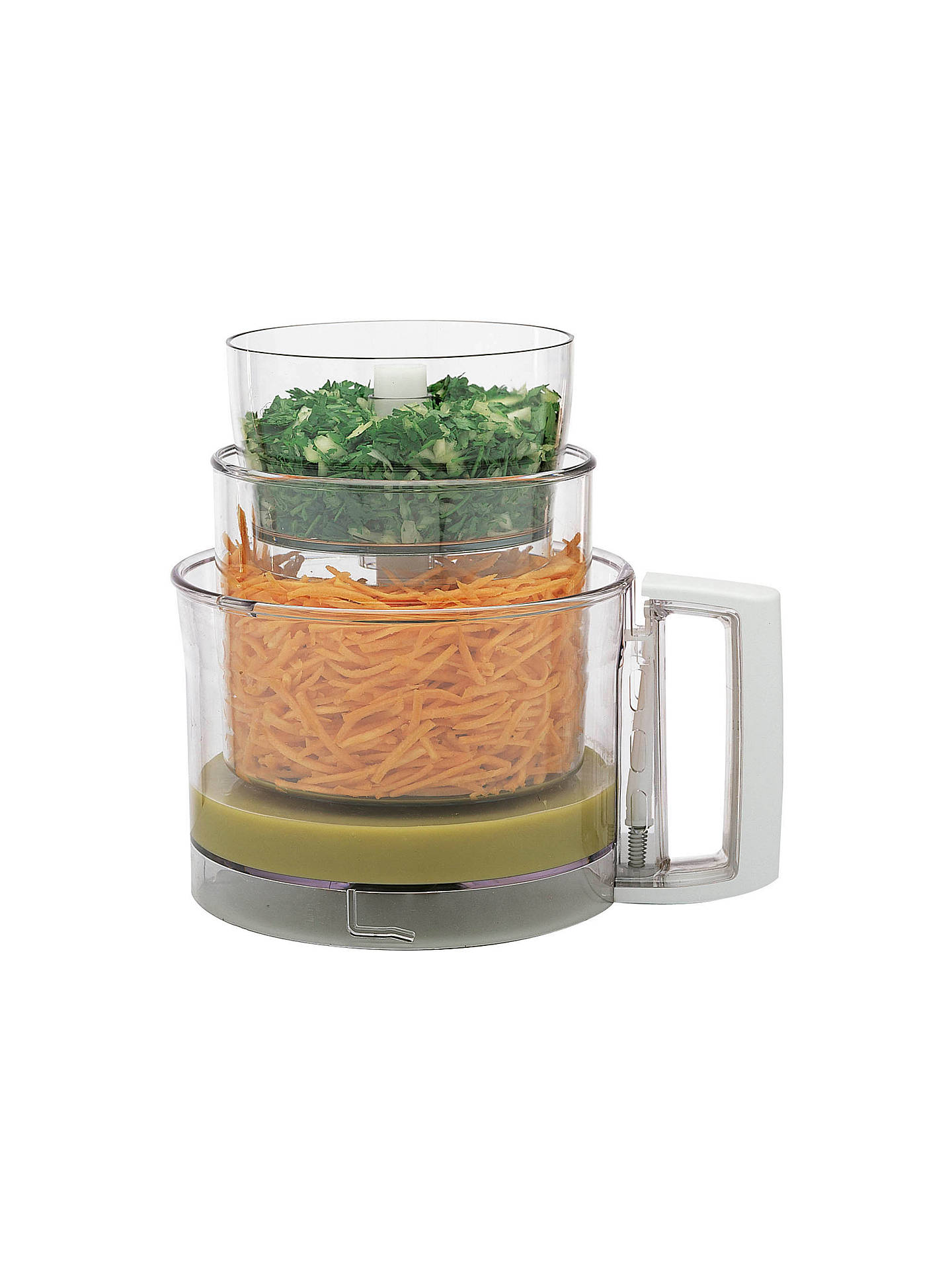 Buy Magimix Compact 3200 Food Processor, White Online at johnlewis.com