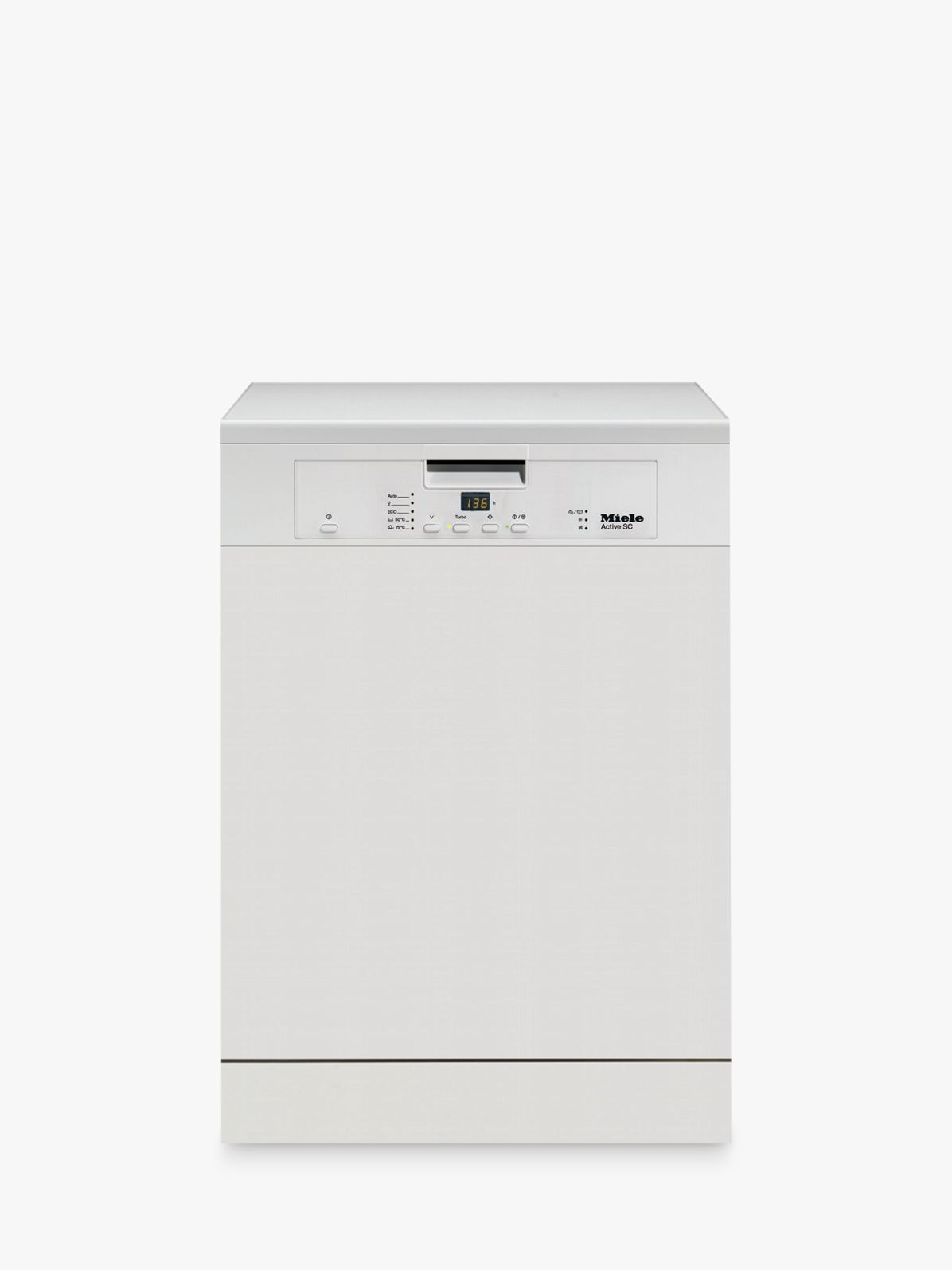 Miele Dishwasher Reviews >> Miele G4203sc Freestanding Dishwasher White