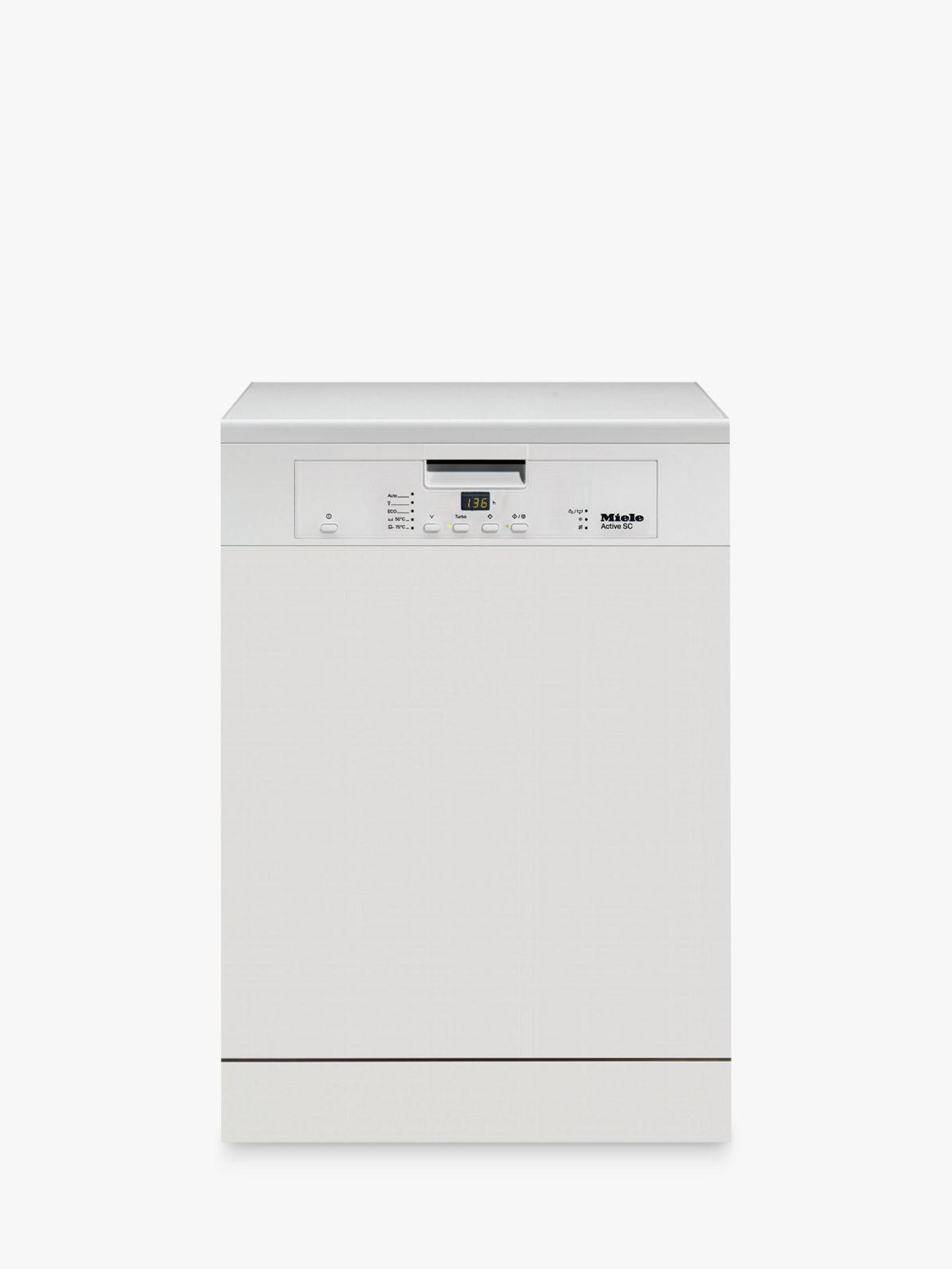 Miele Miele G4203SC Freestanding Dishwasher, White