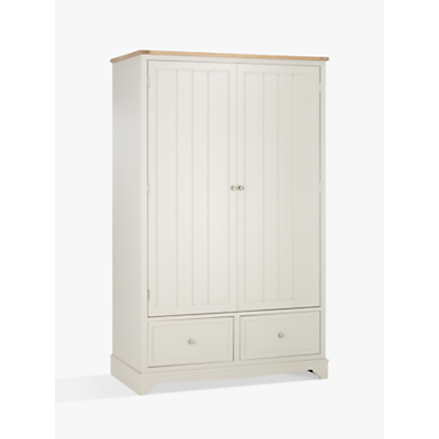 John Lewis St Ives 2 Door, 2 Drawer Wardrobe, FSC-Certified (Oak, Birch, Oak Veneer, MDF)