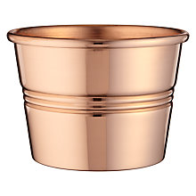 Buy John Lewis John Lewis Croft Collection Copper Pot, Medium Online at johnlewis.com