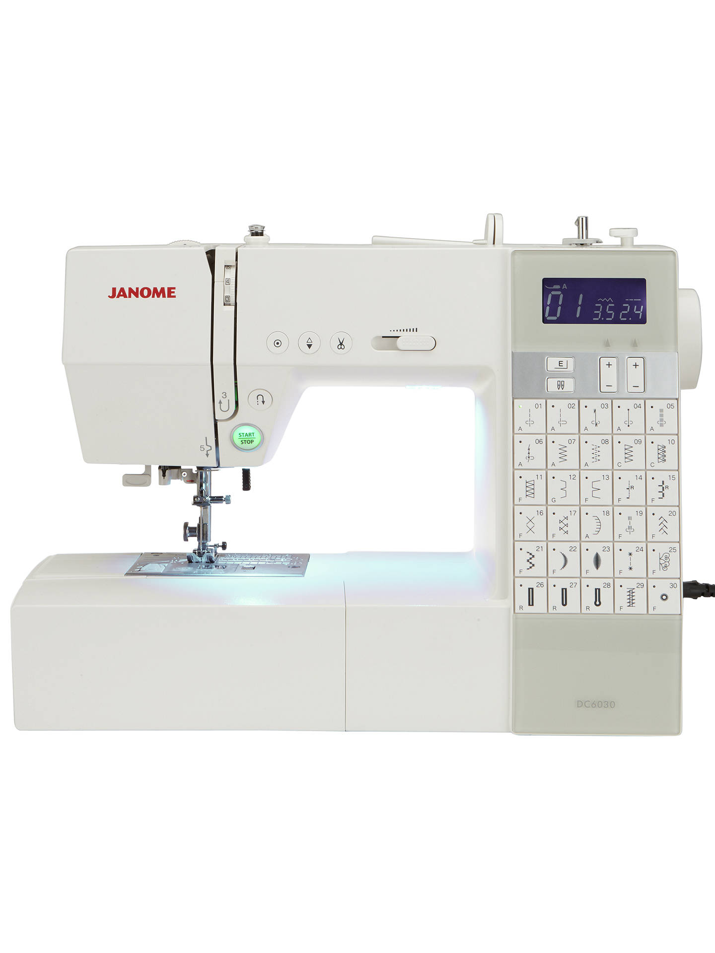 Buy Janome DC6030 Sewing Machine Online at johnlewis.com
