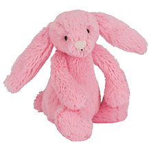 Buy Jellycat Bashful Sorbet Baby Bunny Online at johnlewis.com