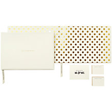 Buy kate spade new york Wedding Guest Book Online at johnlewis.com