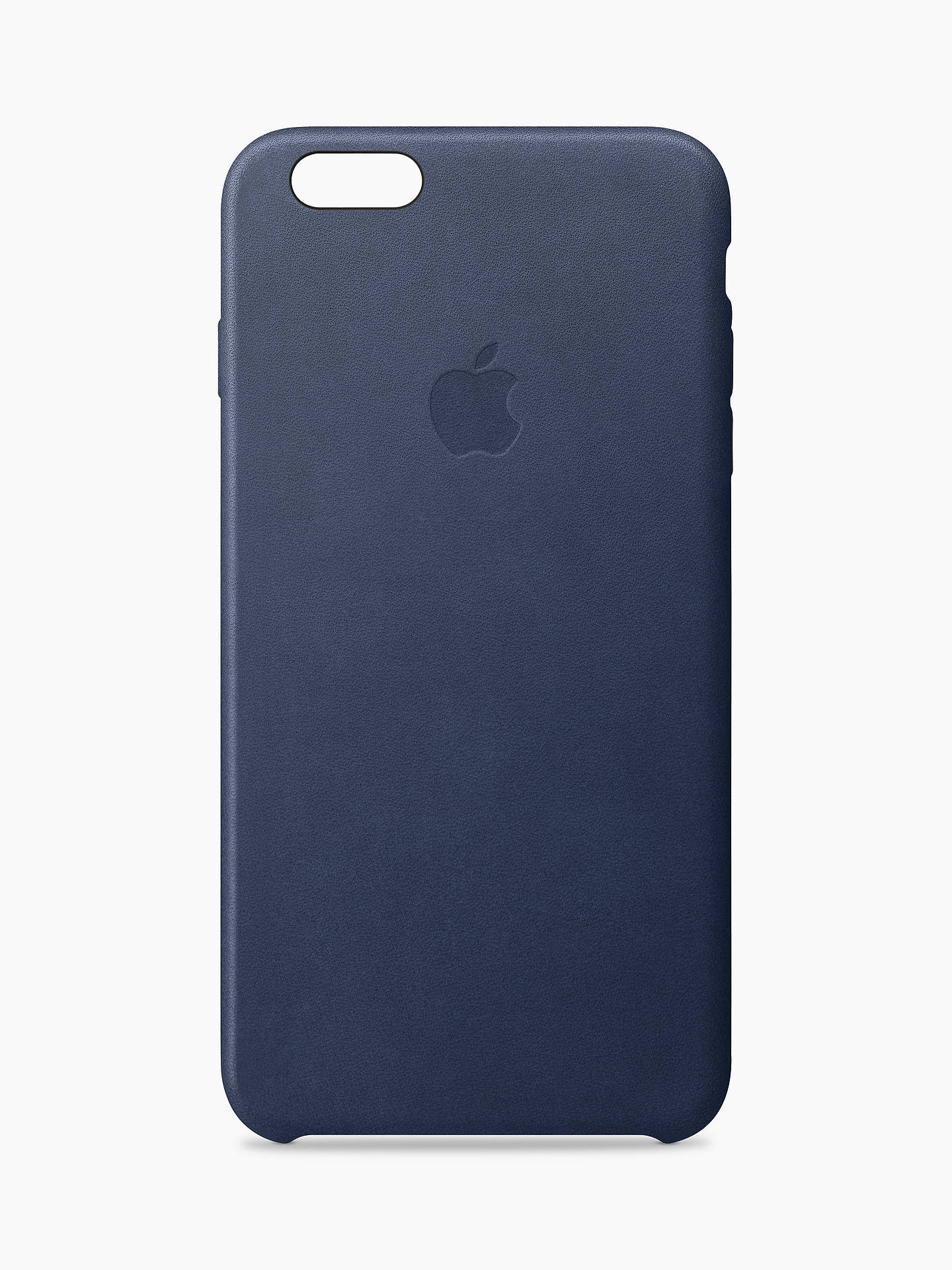 Buy Apple Leather Case for iPhone 6/6s, Midnight Blue Online at johnlewis.com