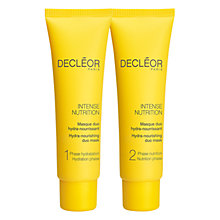 Buy Decléor Intense Nutrition Hydra-Nourishing Duo Mask Online at johnlewis.com