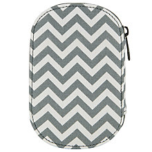 Buy John Lewis Zig Zag Print Sewing Kit, Grey Online at johnlewis.com