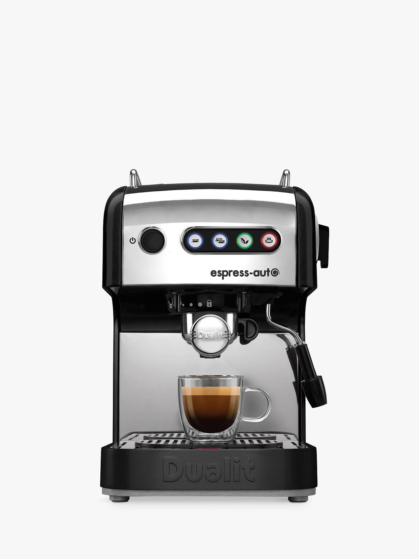 Dualit 84516 Espress Auto 4 In 1 Coffee And Tea Machine Black
