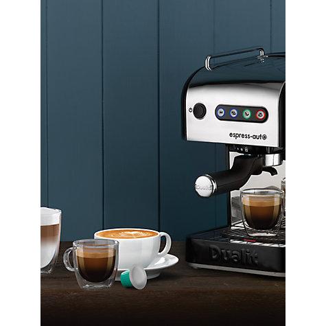 Buy Dualit 84516 Espress-Auto 4-in-1 Coffee and Tea Machine, Black ...