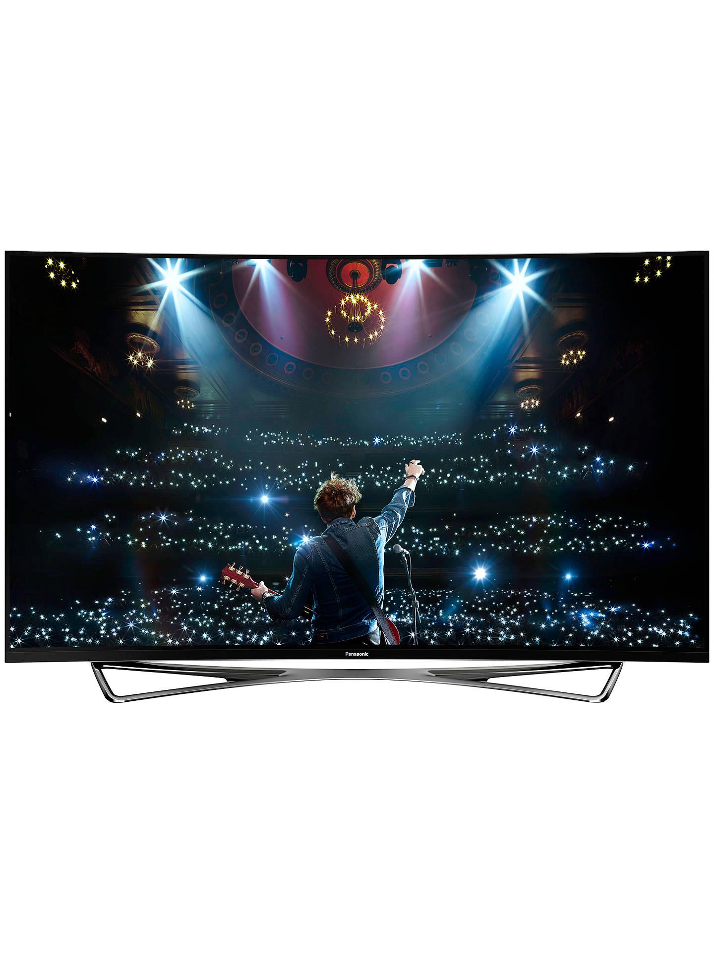 Panasonic Viera TX-65CZ952B OLED Curved 4K Ultra HD Smart TV, 65