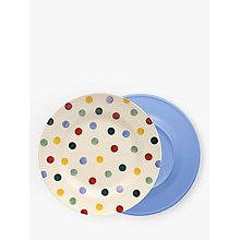 Buy Emma Bridgewater Polka Dot Melamine Dinner Plate, Dia.25.5cm Online at johnlewis.com