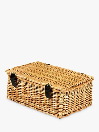 John Lewis & Partners Empty Rectangular Hamper