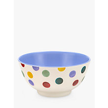 Buy Emma Bridgewater Polka Dot Melamine Bowl, Multi, Dia.15cm Online at johnlewis.com