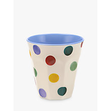 Buy Emma Bridgewater Polka Dot Melamine Beaker Online at johnlewis.com