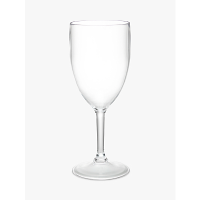 John Lewis Acrylic Wine Glasses, Set of 4