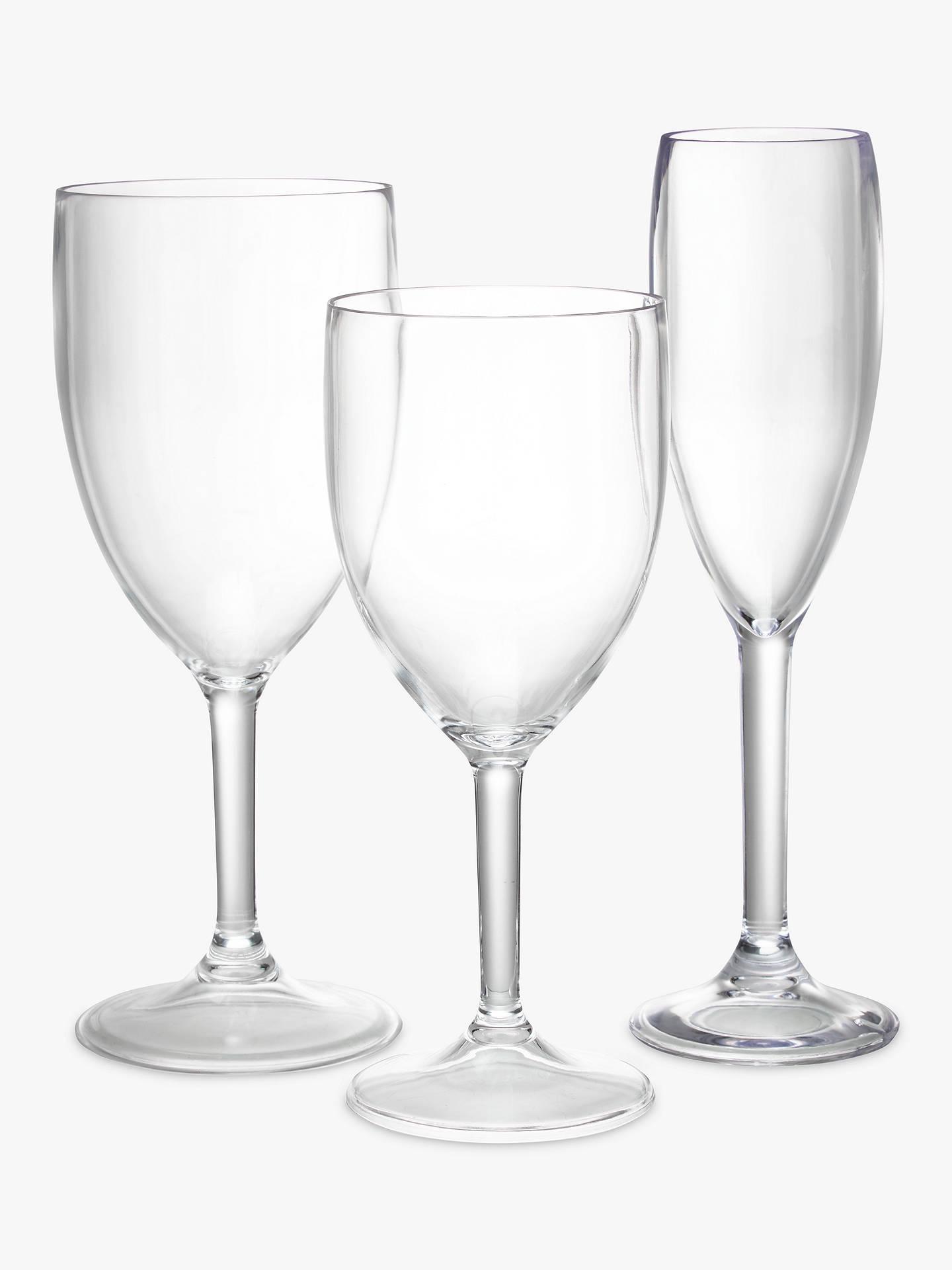 john lewis partners plastic wine glasses set of 4. Black Bedroom Furniture Sets. Home Design Ideas