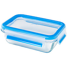 Buy Zyliss Fresh Glass Rectangular Storage Oven Dish, 0.5L Online at johnlewis.com