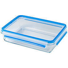 Buy Zyliss Fresh Glass Rectangular Storage Oven Dish, 2L Online at johnlewis.com