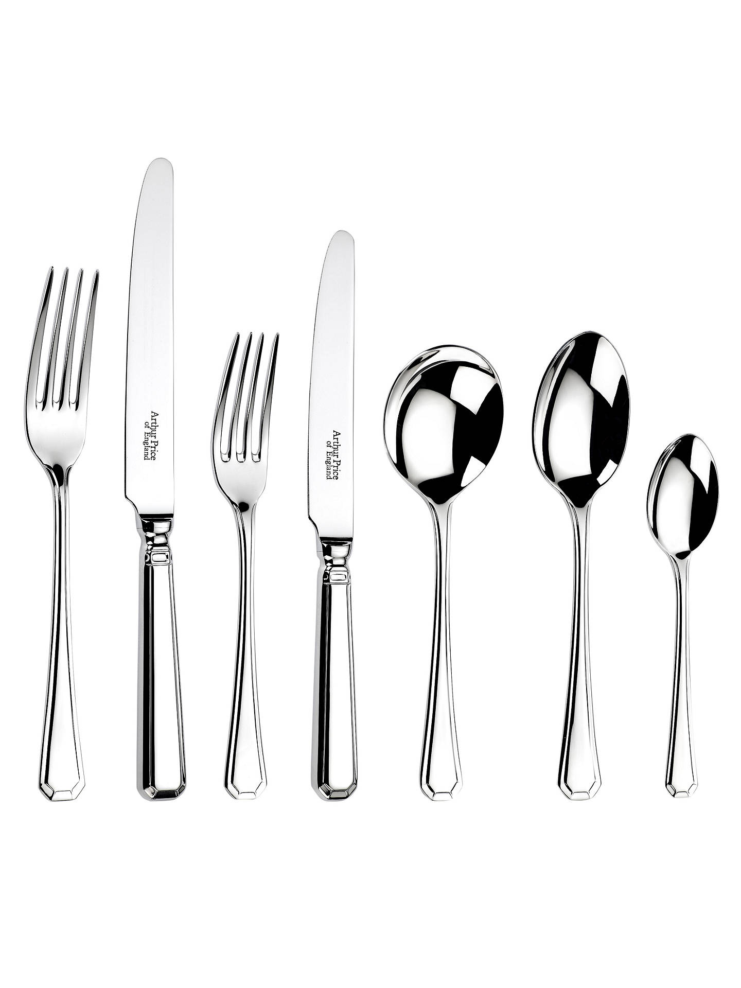 Buy Arthur Price Grecian Cutlery Set, 1 Place Setting Online at johnlewis.com