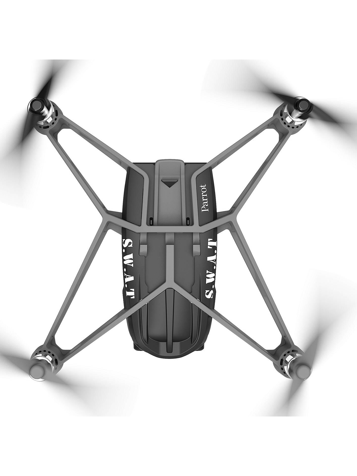 Parrot Swat Airborne Night Minidrone Black At John Lewis Partners Minidrones Hydrofoil Drone Orak Buyparrot Online