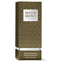 Buy Molton Brown Tobacco Absolute Eau de Toilette, 50ml Online at johnlewis.com