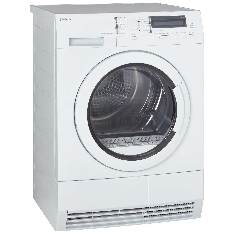 Loading Tumble Dryer ~ John lewis jltdh heat pump condenser tumble dryer kg