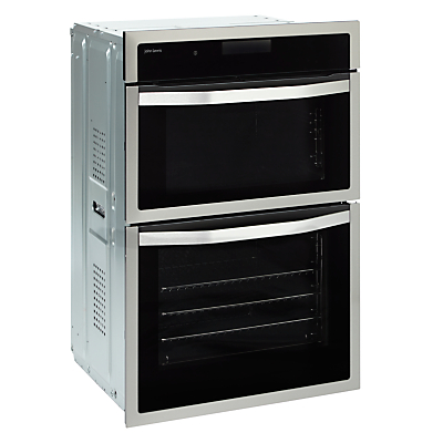 Image of John Lewis JLBIDO915X Double Electric Oven, Stainless Steel