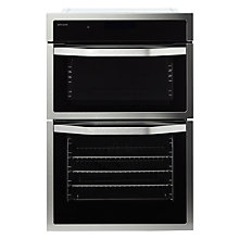 Buy John Lewis JLBIDO915X Built-In Double Electric Oven, Stainless Steel Online at johnlewis.com