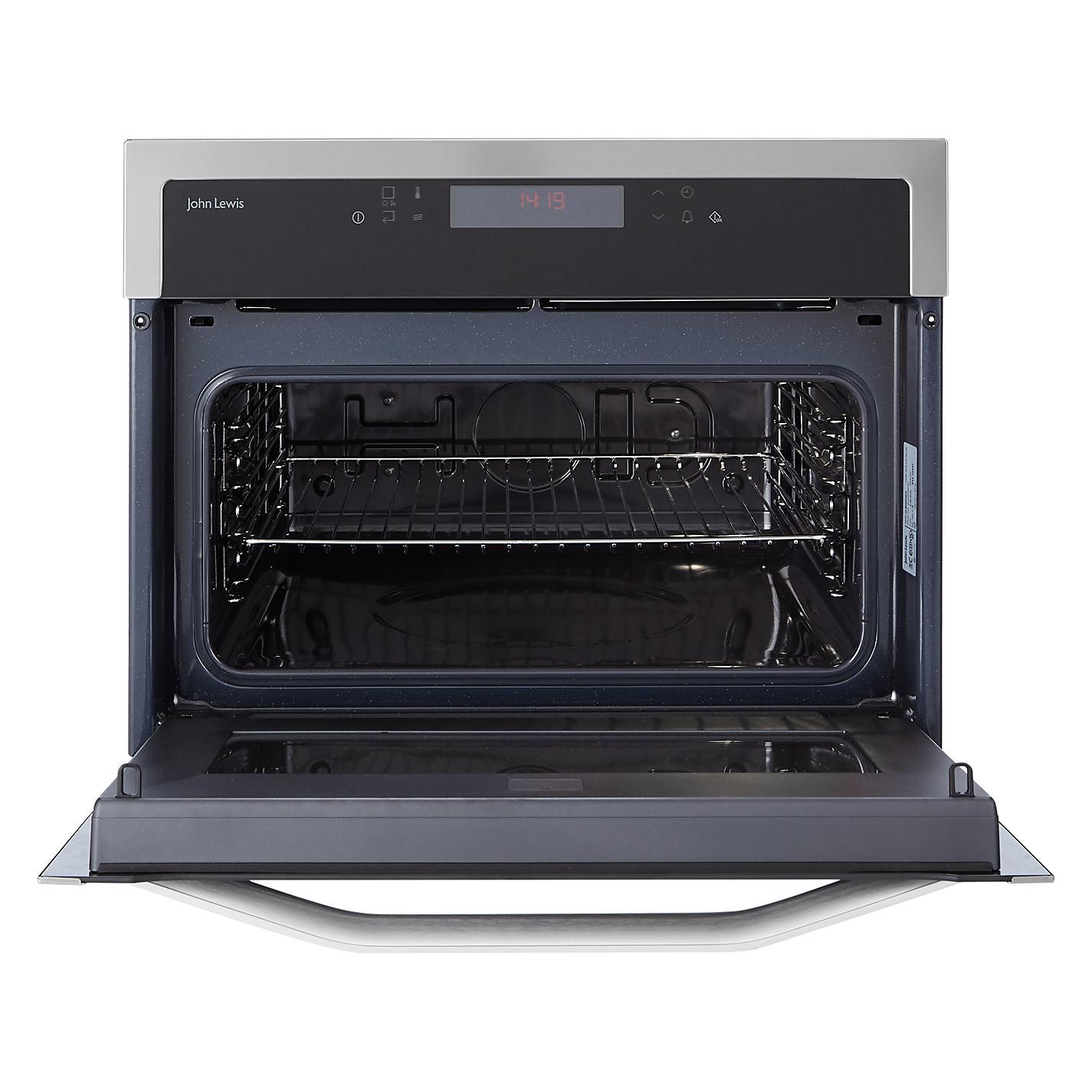 John Lewis Kitchen Appliances Buy John Lewis Jlbimw03 Built In Microwave Black John Lewis