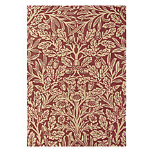Buy Morris & Co Oak Rug, Crimson Online at johnlewis.com